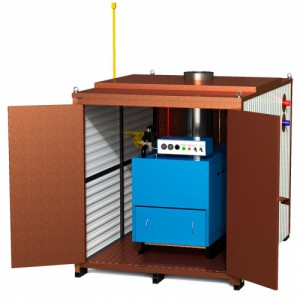 Газовый котел наружного размещения RS-H40